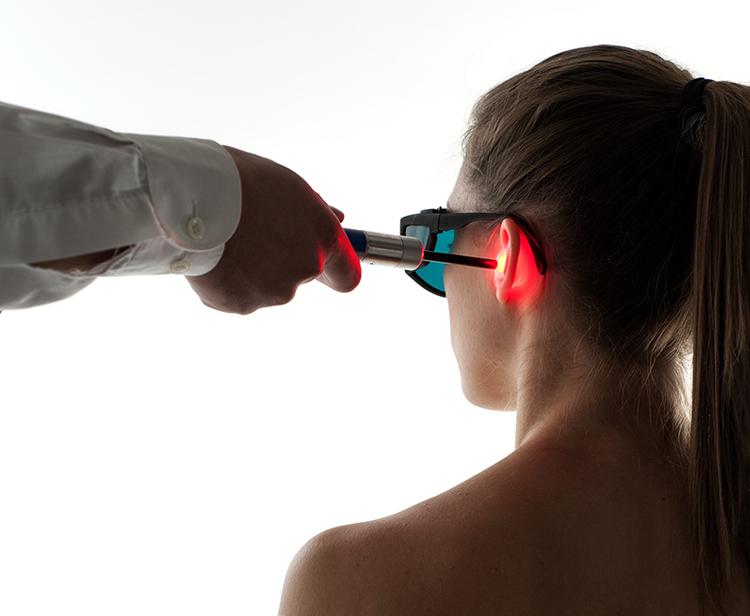 laser terapia aparaty
